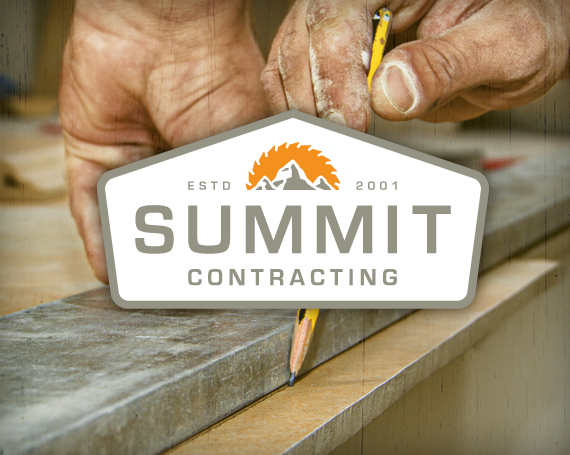 Summit Contracting Branding